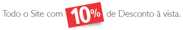Todo o site 10% off à vista